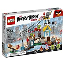 LEGO Angry Birds Pig City Teardown Building Kit, 386-Piece