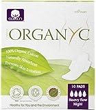 Organyc - Organic Cotton Menstrual Pads with Wings Heavy Night Flow Night - 10 Pad(s)