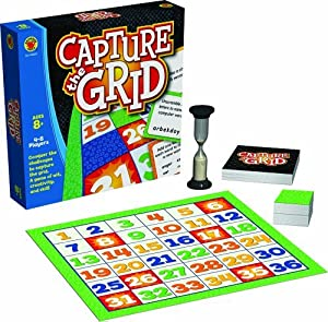 Capture the Grid Educational Board Game by Brighter Child