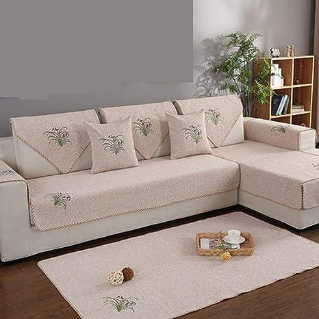 Funda extraíble funda Fundas para sofá L Funda de sofá en ...
