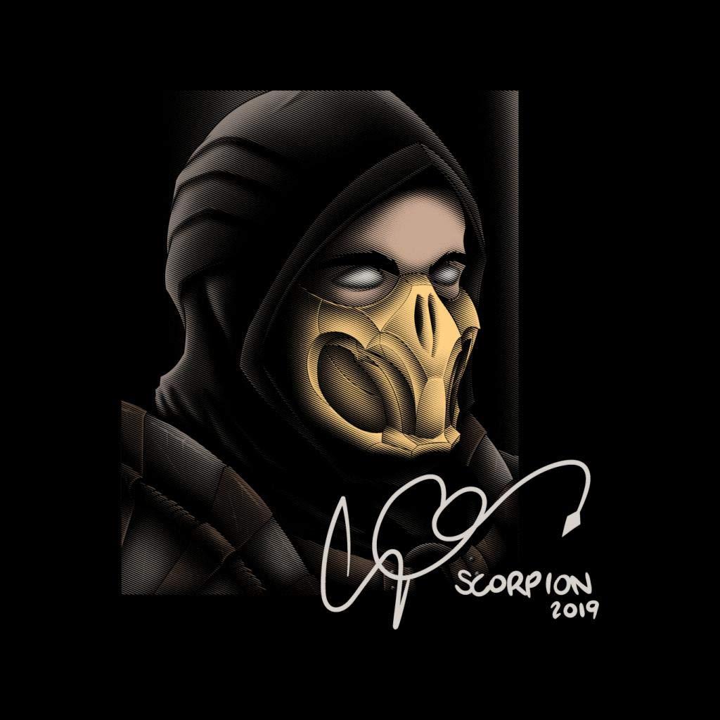 Cloud City 7 Scorpion Double Delux Album Mortal Kombat Kids T-Shirt
