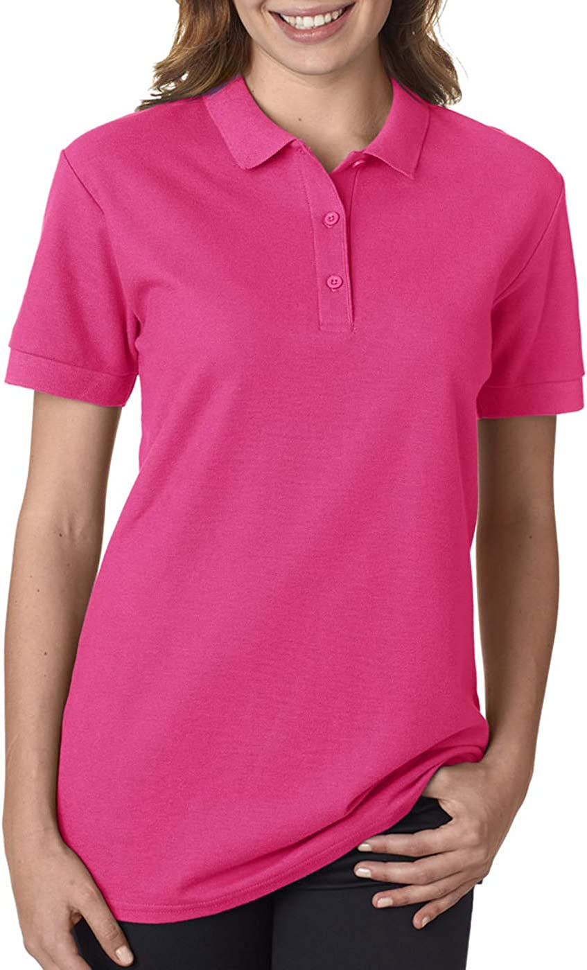 82800L Gildan Premium Cotton/™ Womens Double Piqu/é Polo