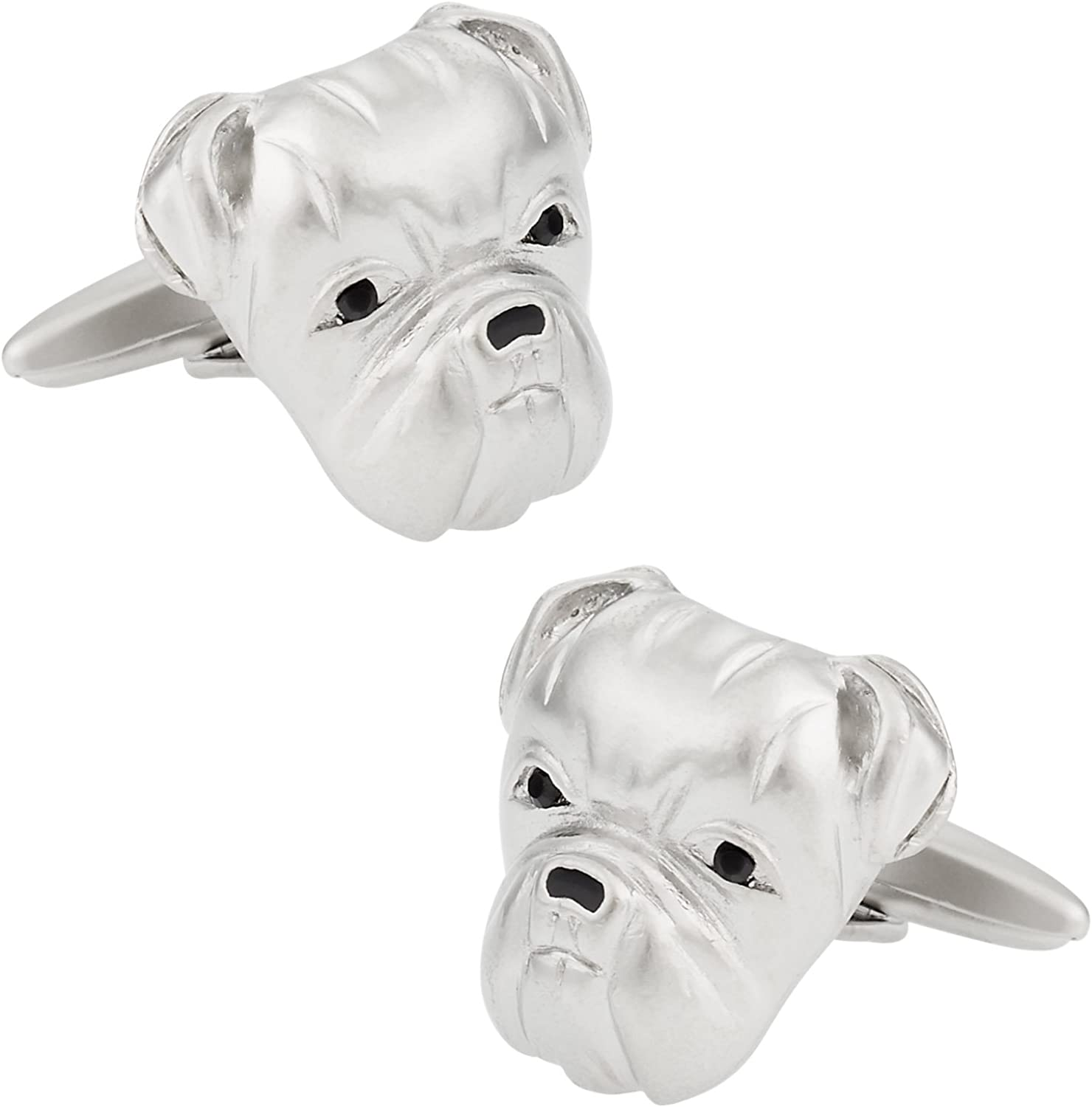 Cuff-Daddy Bulldog Cufflinks with Presentation Box