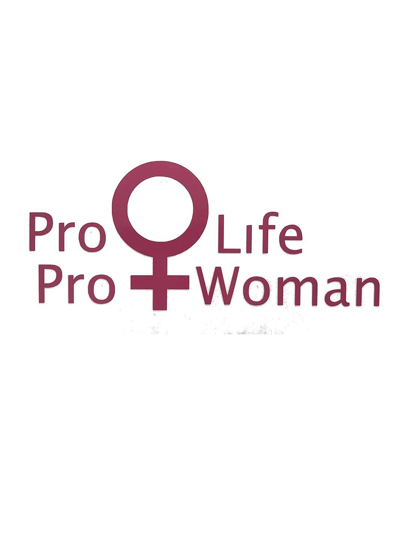 Laptops Custom Pro Woman Pro Life Vinyl Decal Life Decal for Tumblers Anti Abortion Bumper Sticker Car Windows