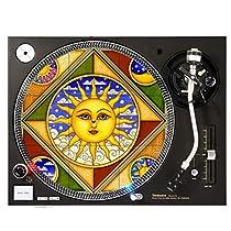 Sun Window Pane - DJ Turntable Slipmat