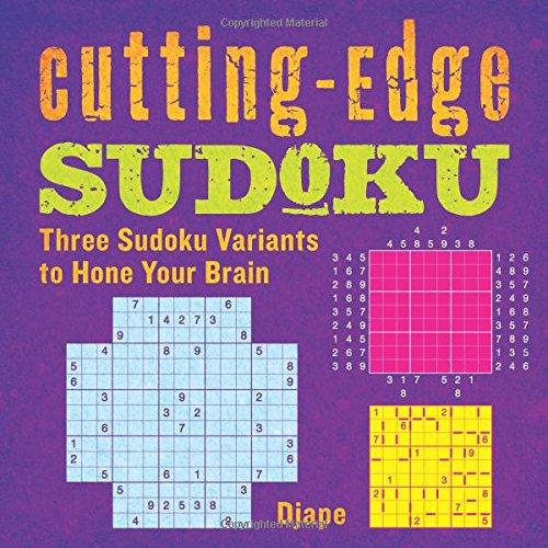 Cutting Edge Sudoku Three Variants Brain