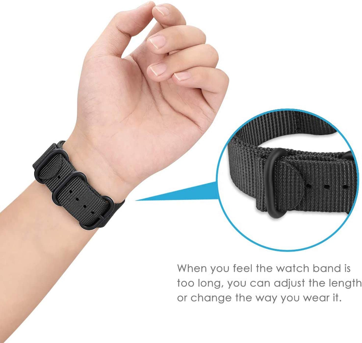Amazon.com: Fly-Touch - Correa para reloj Samsung Gear S3 ...