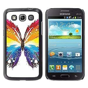 EJOY---Cubierta de la caja de protección la piel dura para el ** Samsung Galaxy Win I8550 ** --Mariposa Colores