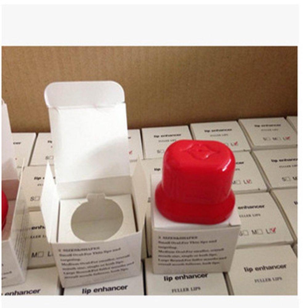 ASAP CHIC Lip Plumping Enhancer Pump for Plumper Pout Full Lips Suction Pout Device (shape :oval)(4 Size)