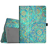 Fintie Folio Case for iPad Air 10.5' (3rd Gen) 2019 / iPad Pro 10.5' 2017 - [Corner Protection] Premium PU Leather Smart Folio Cover with Pencil Holder, Auto Sleep/Wake, Shades of Blue