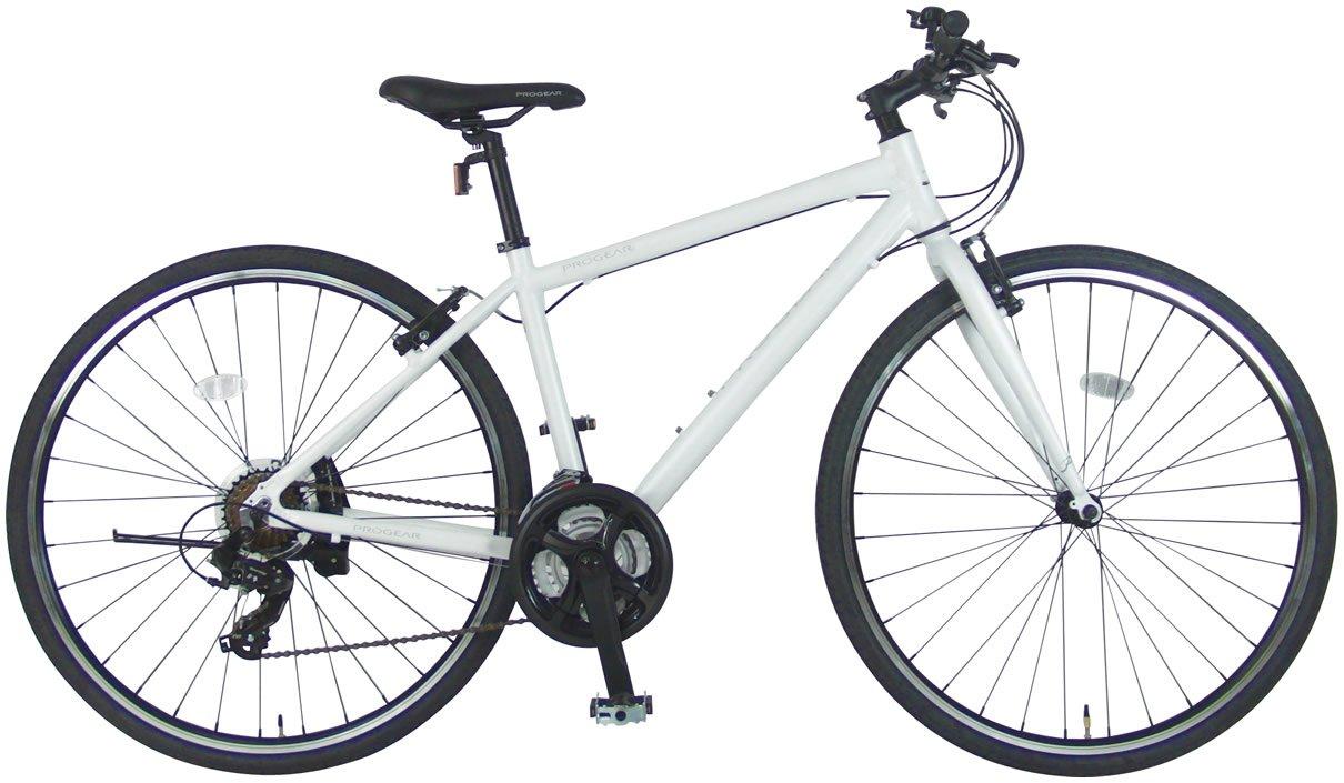 C.Dream(シードリーム) ファーストクロス FC70 アルミ製 クロスバイク ホワイト シマノ変速機 100%組立済み発送 B071XG3XT4 470mm