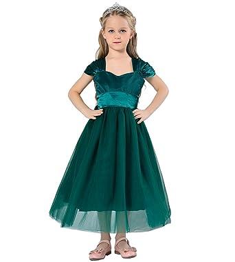 Das beste Mädchen Kleid Festkleid Taille Band Tee Länge Tüllkleid ...