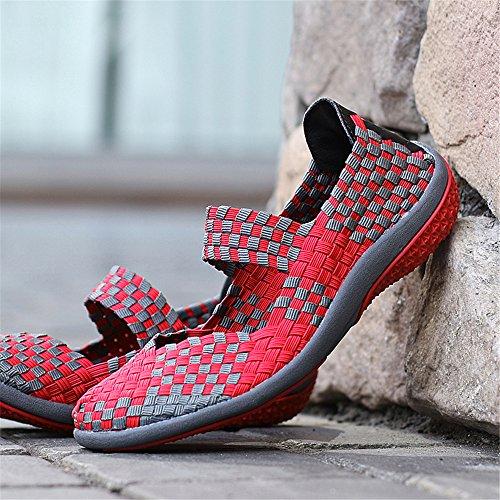 Casuales Deporte de Zapatillas Mujeres de de Deporte Las Zapatillas de Las Rose Transpirables Ligeras qwfUt