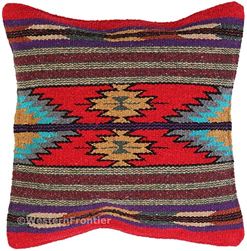 El Paso Designs Aztec Throw Pillow Covers, 18 X 18, Hand Woven in Southwest and Native American Styles. 10