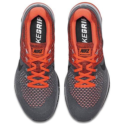 Nike Herren Metcon DSX Flyknit Trainingsschuh Deep Royal Blue / White-Racer Blau 10.5 D (M) US Dunkelgrau / Wolfsgrau / Hyper Crimson / Schwarz