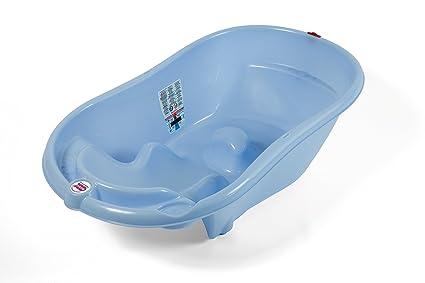 Piccola Vasca Da Bagno Nella Quale Si Sta Seduti : Okbaby vaschetta onda azzurro azzurro55 : amazon.it: prima infanzia