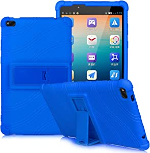 HminSen Kids Cover for Lenovo Tab E8 Case, Light Weight [Anti Slip] Shock Proof Protective Cover for Lenovo TAB E8 TB-8304F TB-8304F1 Tablet Case (Navy Blue)