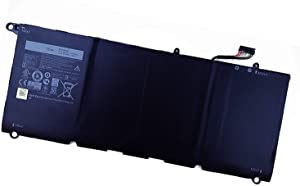 SUNNEAR 90V7W 56Wh Laptop Battery Replacement for Dell XPS 13 9343 9350 Series Notebook JD25G 0DRRP 0N7T6 5K9CP DIN02 JHXPY