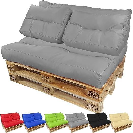 PROHEIM Cojines para palets Lounge - Cree un Elegante sofá ...