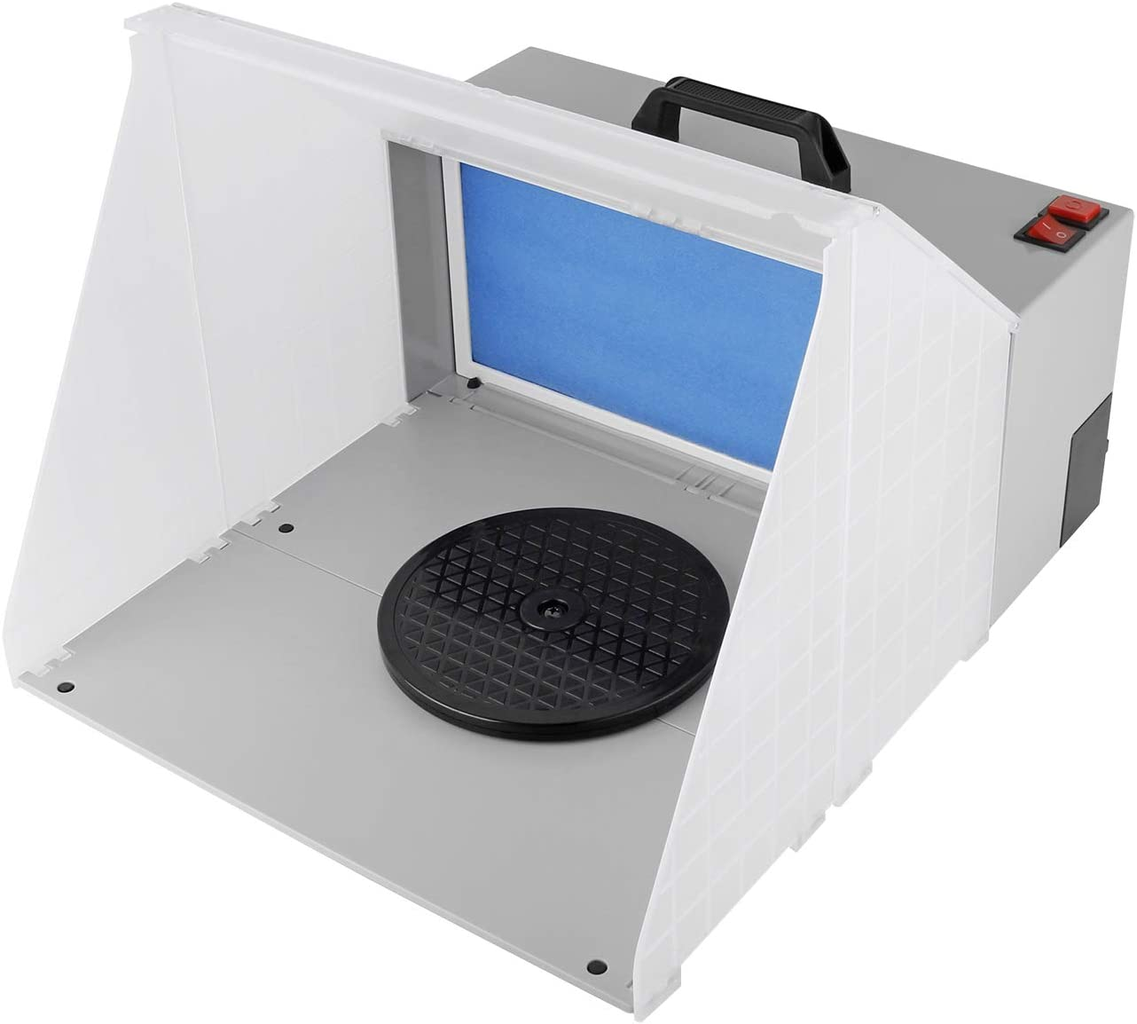 YAOBLUESEA Extractor de aerógrafo 3m³ / min Filtro de Color Vapor de Pintura W420 para neblina de Pintura Filtro de Recambio de Aire Exterior Aerosol de Aire Exterior
