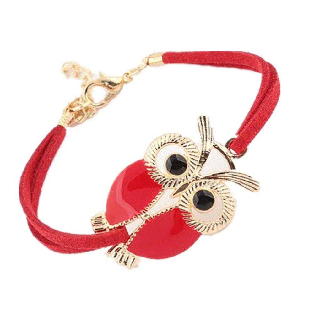 Bracelet,Baomabao Womens Girls Faux Leather Bracelets Vintage Design