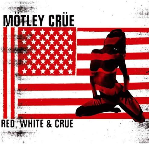 Postcard Red White /& Crue M/ötley Cr/üe