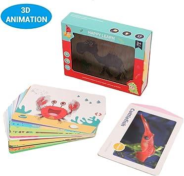 MAOJIE 1 Juego de Caja mágica de animación cognitiva Animal ...