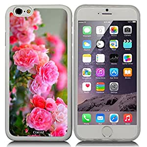 Cocoz® Iphone 6 4.7-inch Case Beautiful Rose Pattern TPU Material Case for for Apple Iphone 6 4.7-inch Release on 2014 Transparent TPU & Flowers