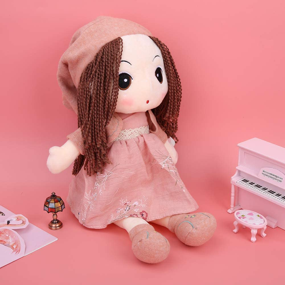 40cm Lovely Doll Pink Kids Kids Soft Cotton Peluche Giocattoli Decorazione Regalo Meravigliosa Bicaquu Peluche Doll