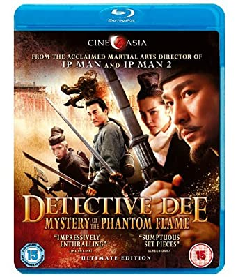 Detective Dee and the Mystery of the Phantom Flame (2010) BDRip 720p 1GB [Hindi-Telugu-Eng] MKV
