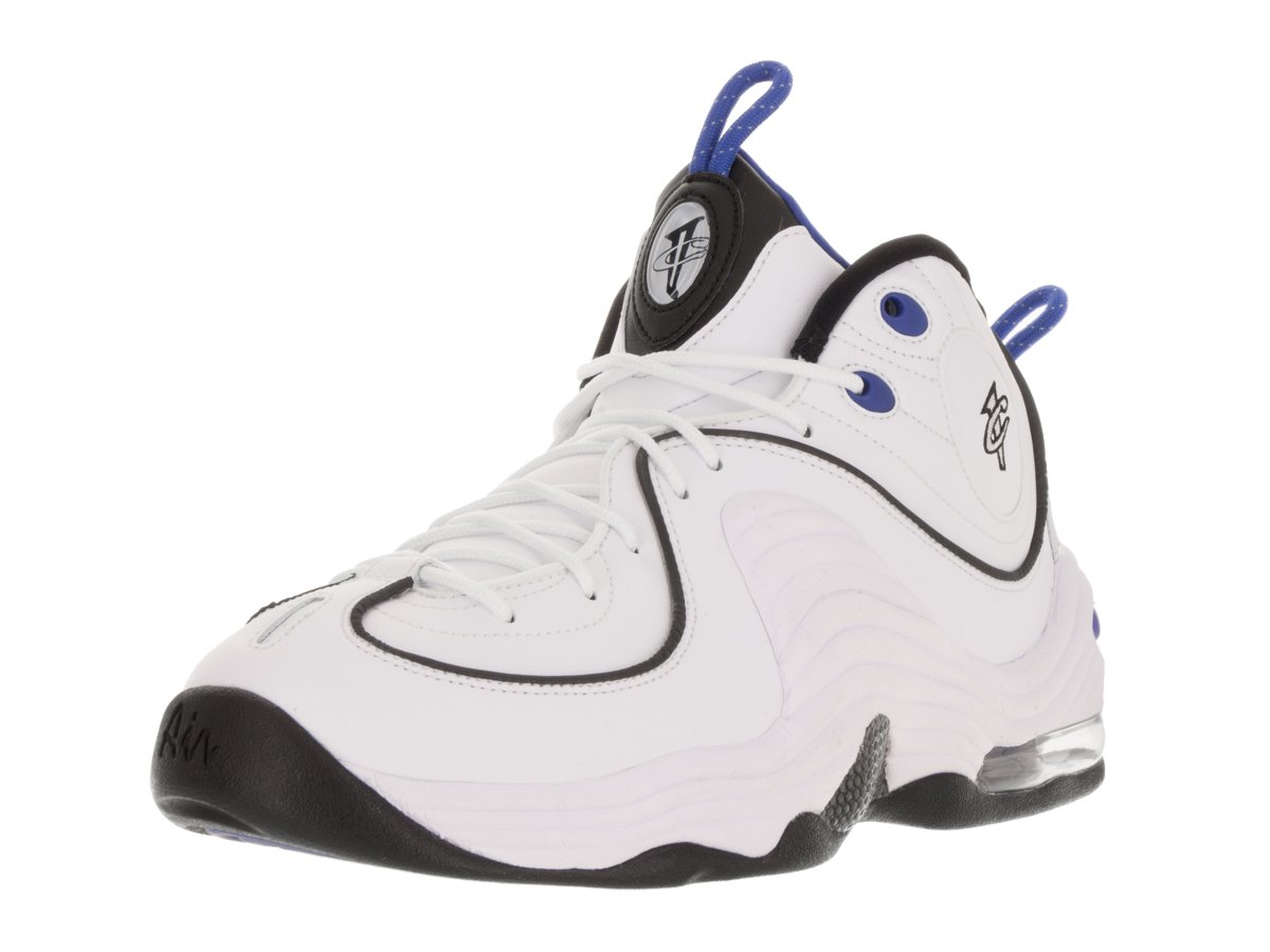 NIKE Men's Air Penny II Basketball Shoe B01G6BLSF2 11.5 D(M) US|White / Varsity Royal-black