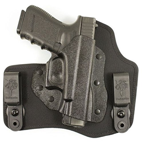 DeSantis Invader IWB Tuckable Holster,Glock 43,Right Hand,Black