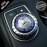 Automotive : US85 Mercedes-Benz Car AMG Style Interior Multimedia Control Decal Sticker Badge Decoration Logo