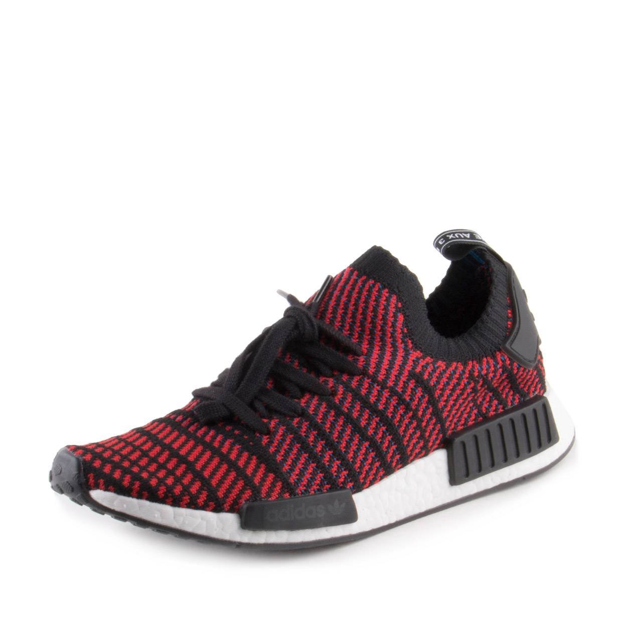 822bfbcf86514 adidas NMD R1 STLT Primeknit in Core Black Solid Red