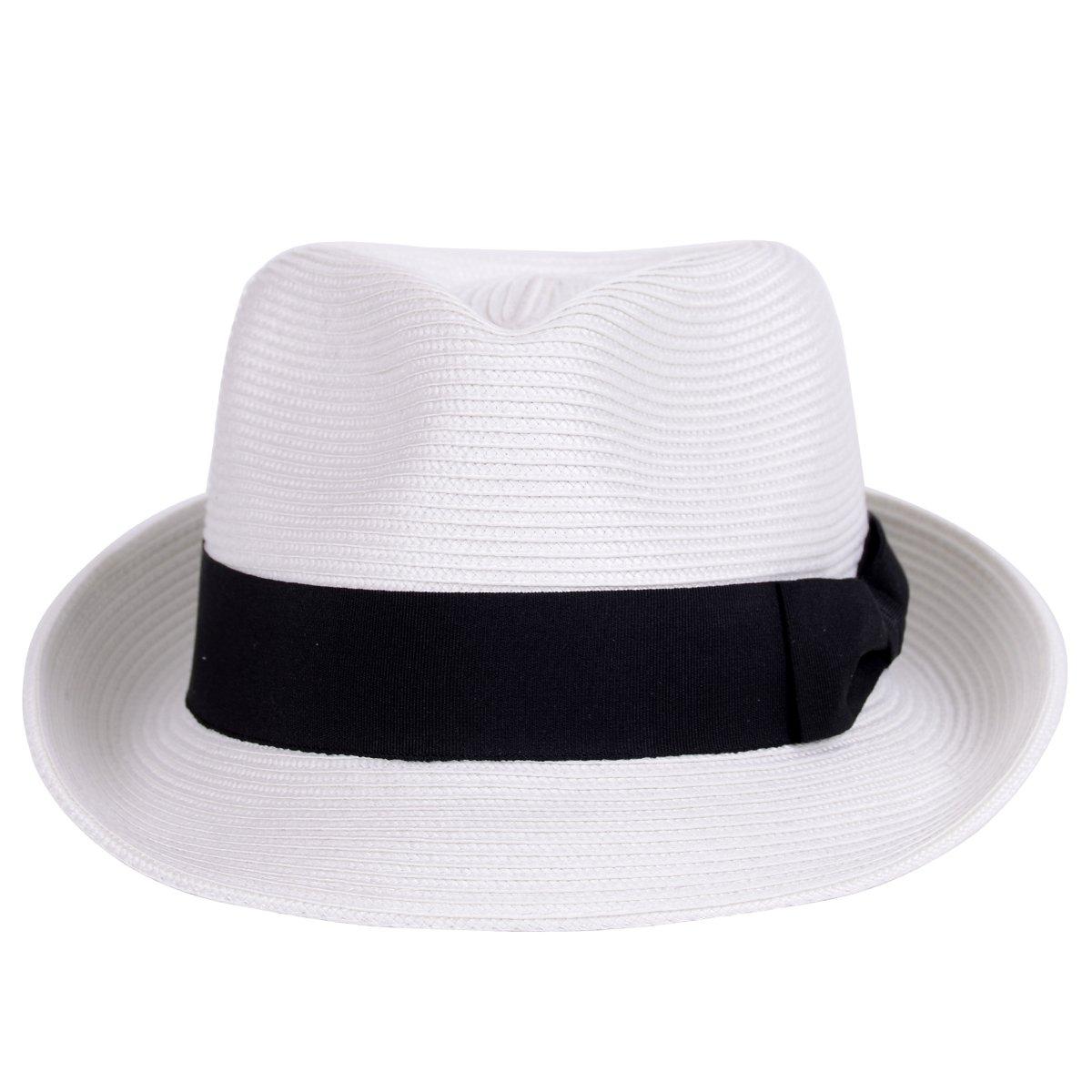 ac2957508f7 Straw fedora hat sun trilby unisex summer beach hats fashion panama jpg  1200x1200 White fedora