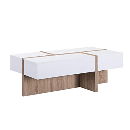 e723b5015284 Image Unavailable. Image not available for. Color  Odelia Coffee Table  Winter White