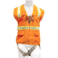 Arnés de Seguridad Industrial Madaco para Techo, protección contra caídas, Resistente, tamaño XL, ANSI OSHA H-TB201-AV-XL