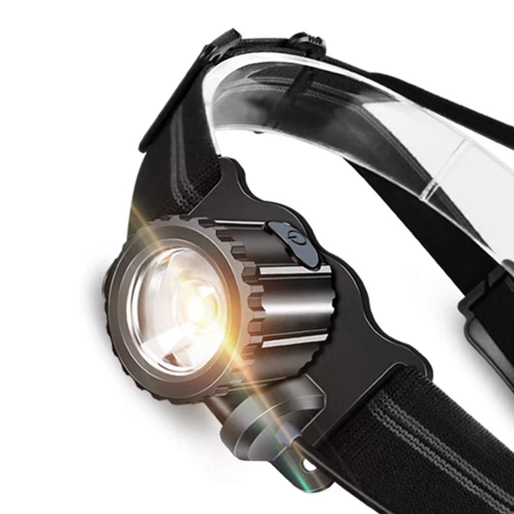 Scheinwerfer Outdoor Zoom Scheinwerfer Verstellbares USB-Ladegerät Scheinwerfer Power Indicator