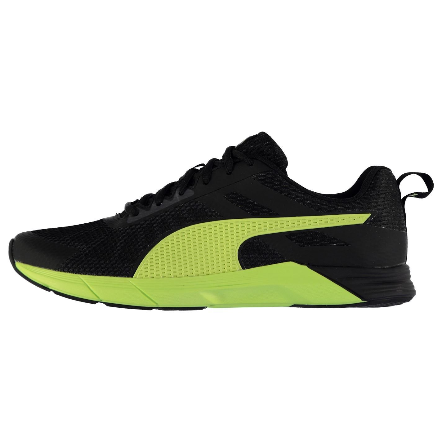Puma Propel Trainers Mens BlackYellow Athletic Sneakers