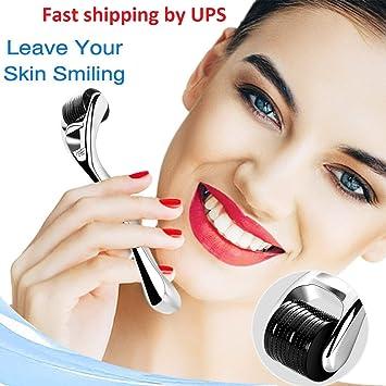 Derma Roller Needle 540 Titanium Micro Needles | Skin & Face Care | Massage  Tools Professional