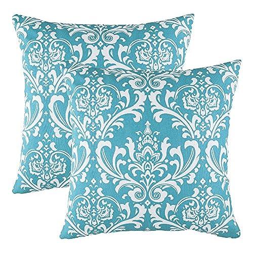 Throw Pillows Turquoise Amazon Awesome Cheap Turquoise Decorative Pillows