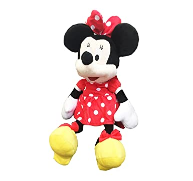 4963b546134 Image Unavailable. Image not available for. Color  MINNIE MOUSE PLUSH  BACKPACK! FIGURE STUFFED TOY DISNEY 18 quot  NWT