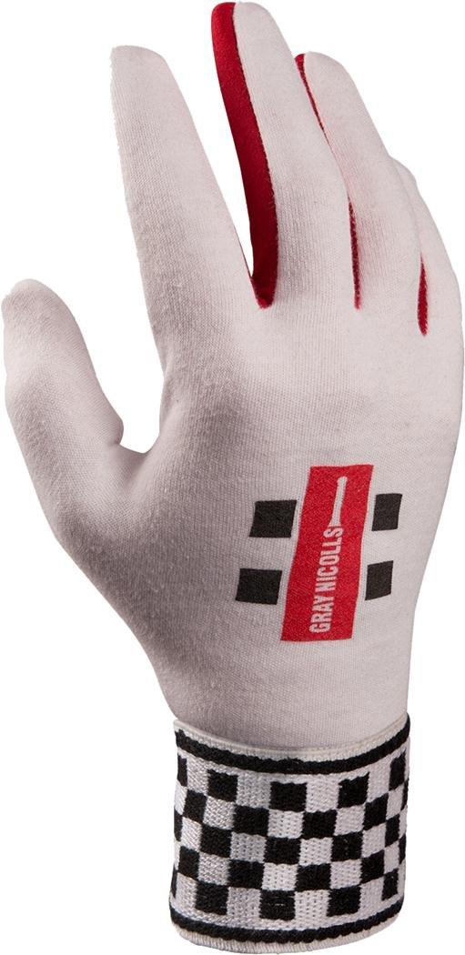 Gray-Nicolls Official Plain Cotton Cricket Keeper Inner Gloves Sizes Boys Mens