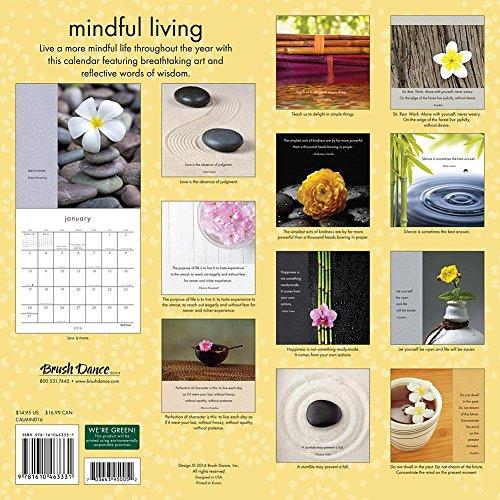 2016 Mindful Living Wall Calendar