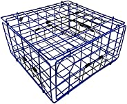Promar TR-555 Folding Crab Trap with Top Door, Blue