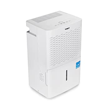 TOSOT 70 Pint Dehumidifier spaces up to 4500 sq. ft, Perfect Basements, Energy Star Certified, Portable Wheels