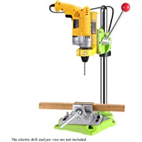 Honeytecs High Precision Electric Power Drill Press Stand Table Rotary Tool Workstation Drill Workbench Repair Tools…