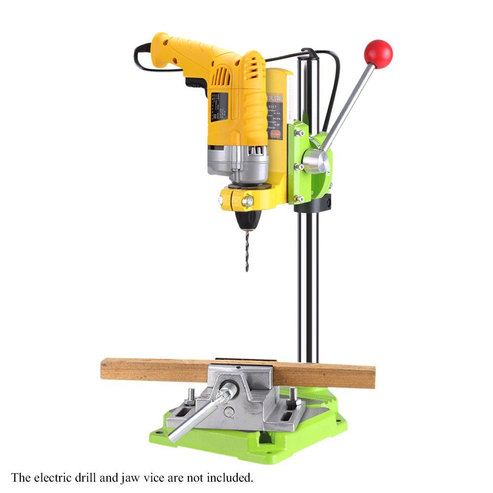 KKmoon High Precision Electric Power Drill Press Stand Table Rotary Tool Workstation Drill Workbench Repair Tools Clamp Work Station with 0-90 Degree Rotating Fixed Frame for Drilling Collet Table by KKmoon (Image #2)