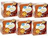 Great Value Hazelnut Cappuccino Mix Single Serve Cups, 0.53 oz,18 count (Pack of 6 )