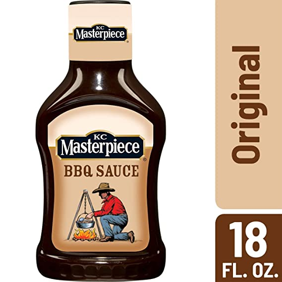 KC Masterpiece Original Barbecue Sauce, 18 Ounces: Amazon.es: Alimentación y bebidas